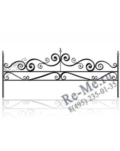 Железная ограда og18