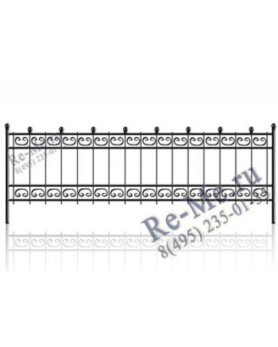Железная ограда og28