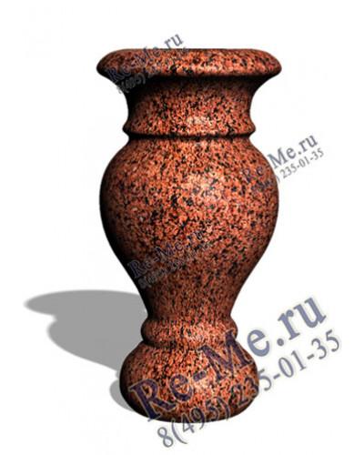 Гранитная ваза Лезники