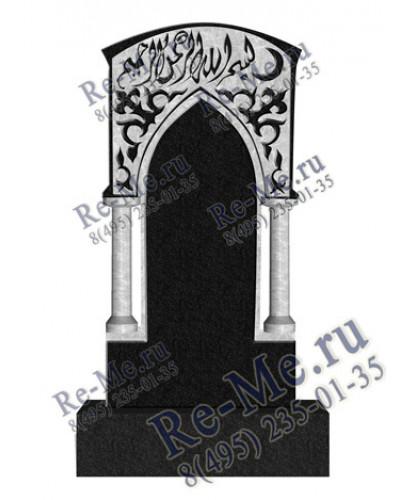 Мусульманский памятник из гранита с колоннами g199