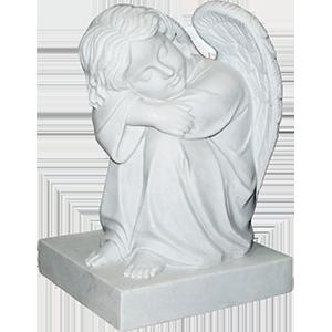 Скульптура на кладбище
