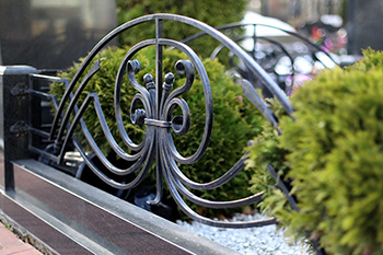 Кованная ограда