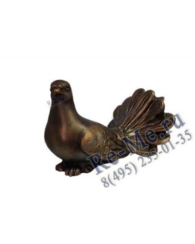 Литьевая фигурка Золотой голубь 13