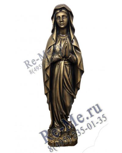 Молящая девушка (белая) №46
