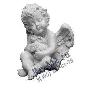 Фигурка ангел с кроликом 4