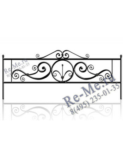 Железная ограда og15