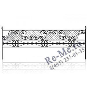 Железная ограда og75