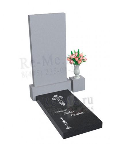 Гранитная надгробная плита
