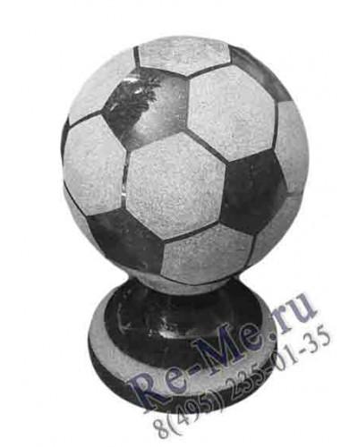 Гранитный мяч черный