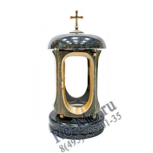 Лампадка Маловка со стеклом №33