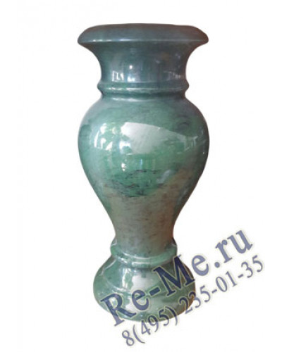 Цветная ваза из литьевого мрамора