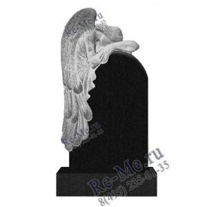 Памятник гранитный скорбящий ангел g744