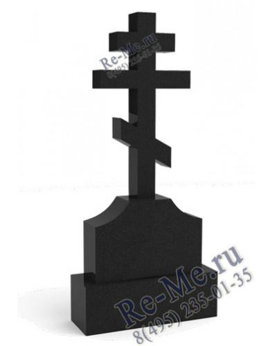 Крест из гранита на кладбище g758