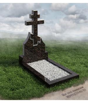 Гранитный памятник в виде креста g19