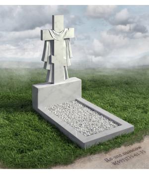 Гранитный памятник в виде креста g20