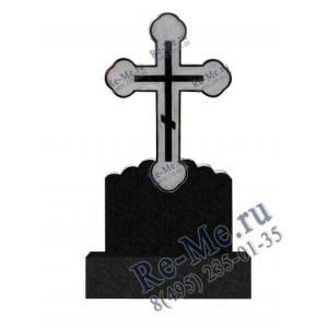 Гранитный памятник в виде нежного креста g217