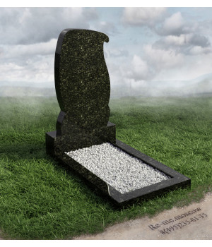 Гранитный памятник в виде свитка g430