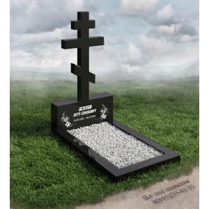 Классический дешевый крест на могилу g757