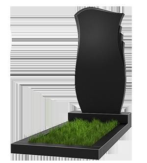 Гранитный цветник на кладбище